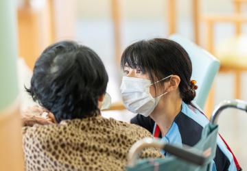 [写真]介護福祉士